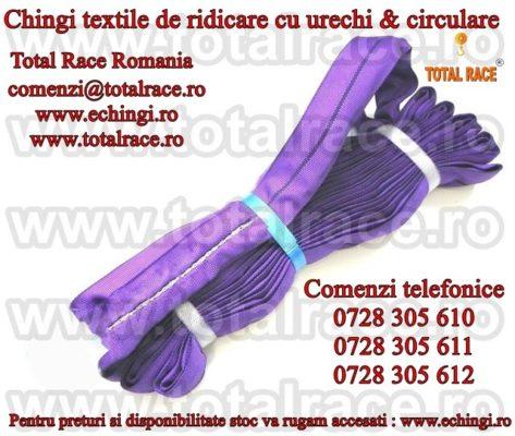 Chingi ridicare, chingi macarale, chingi textile , sufe de ridicat Total Race Romania