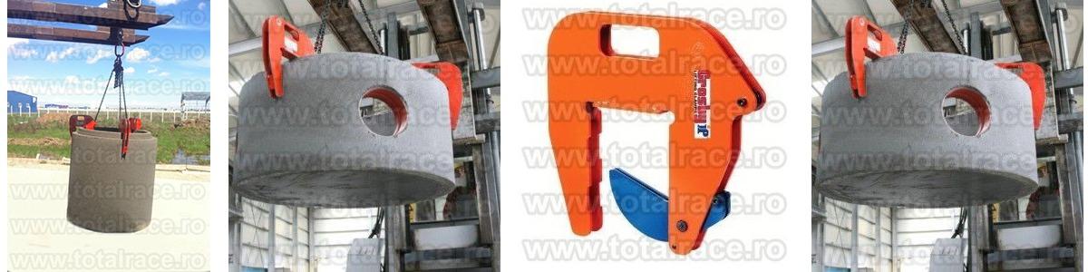 Dispozitive de ridicare cu clesti pentru tuburi de beton model IPCC Crosby®