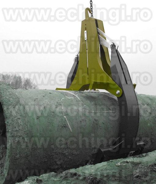 Clesti ridicare tuburi beton / camine beton