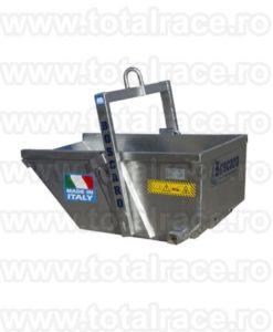 Bena beton A-DALU cu autodescarcare Aluminiu