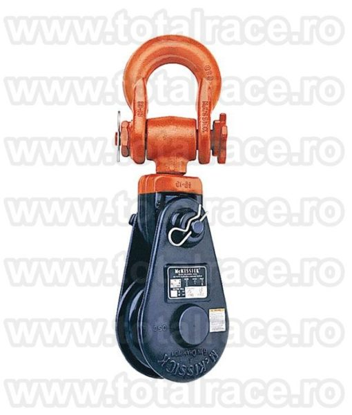 Snatch Block with Shackle BB 421