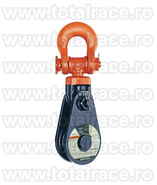 Snatch Block with Shackle BB 431