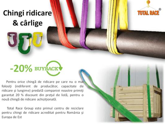 Campanie buy-back chingi ridicare textile